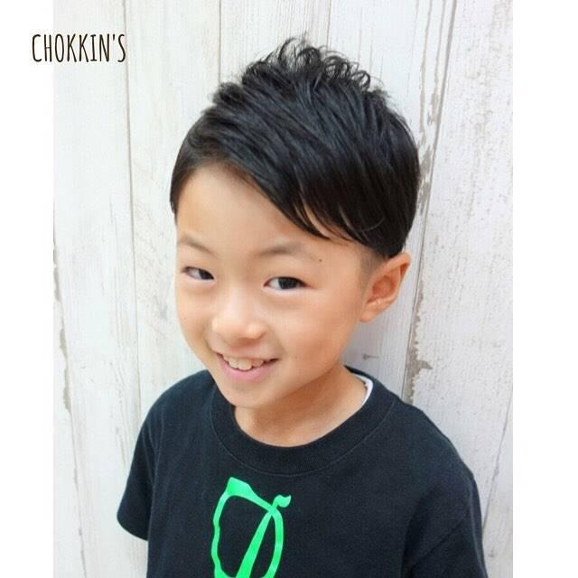 子供の髪型]男の子編ソフトモヒカン・ツーブロックなど簡単に